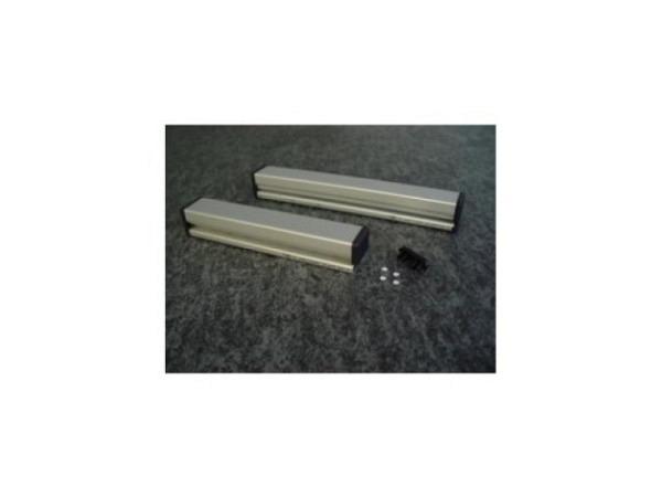 Locher Krause Opto 4Loch silber, Aluminium-Ausführung
