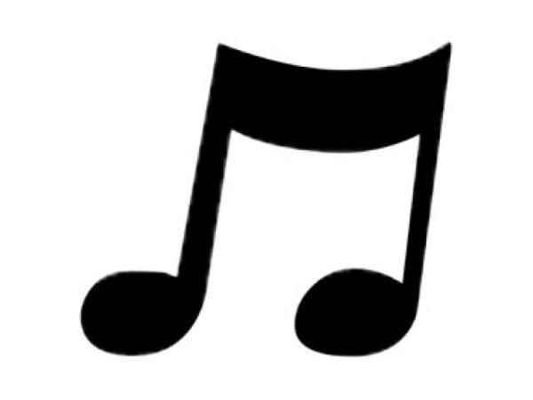 Locher Stanzer 16mm Musiknote, für Papier bis 220g/qm, weisses Gehäuse