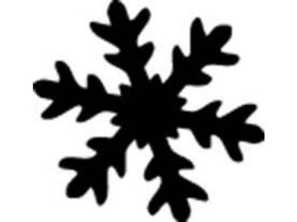 Locher Stanzer 16mm Schneeflocke, für Papier bis 220g/qm, weisses Gehäuse