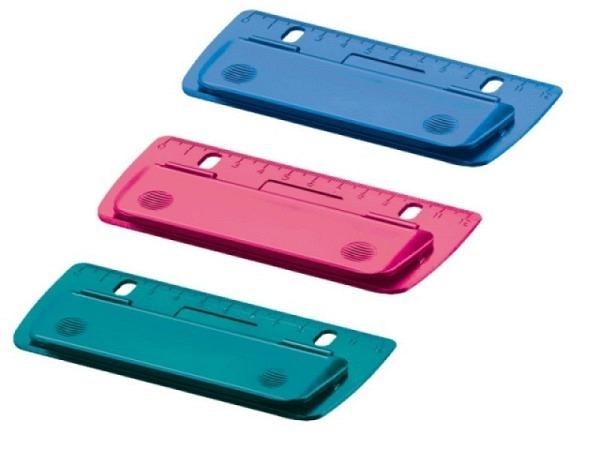 Locher Herlitz Taschenlocher farbig assortiert, Kunststoff