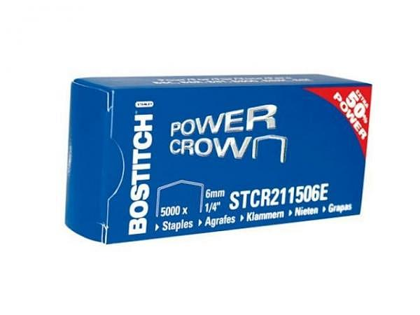 Heftklammern Bostitch STCR 2115 1/4 6mm = SB8 5000Stk.