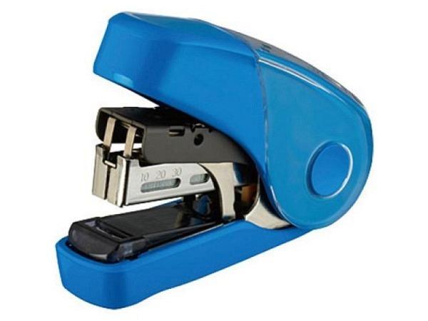 Heftapparat HD-10FL blau, Flachhefter