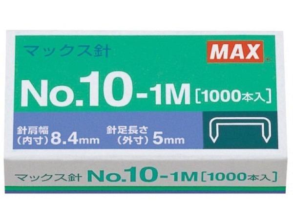 Heftklammern No. 9+1 Flat-Staples, 1000Stk.