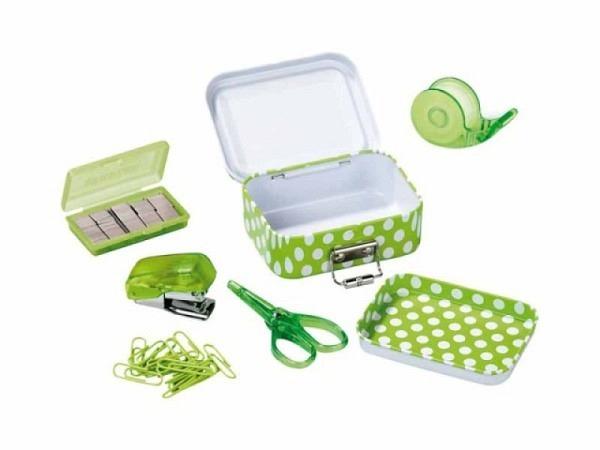 Heftapparat Moses Mini-Büro-Box mit Heftapparat
