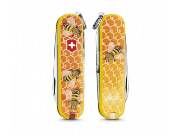 Messer Victorinox Classic Line klein Limited Edition Honey Bee