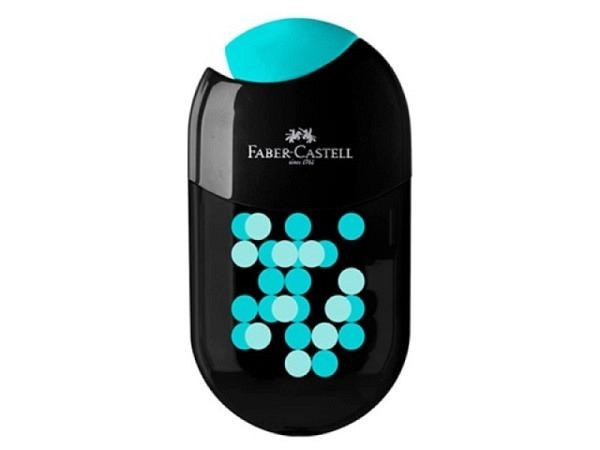 Spitzer Dux knautsch rund Mini, mit farbigem Behälter