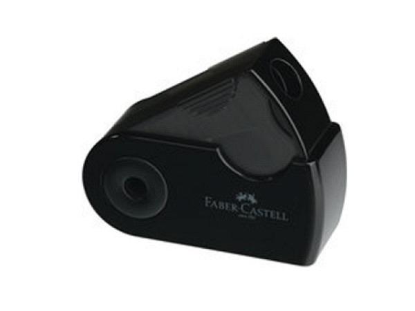 Spitzer Faber-Castell schwarz, Einfachspitzdose