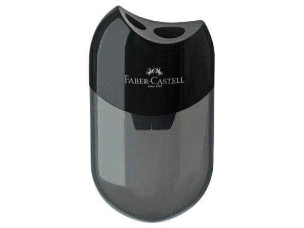 Spitzer Faber-Castell schwarz, Doppelspitzdose