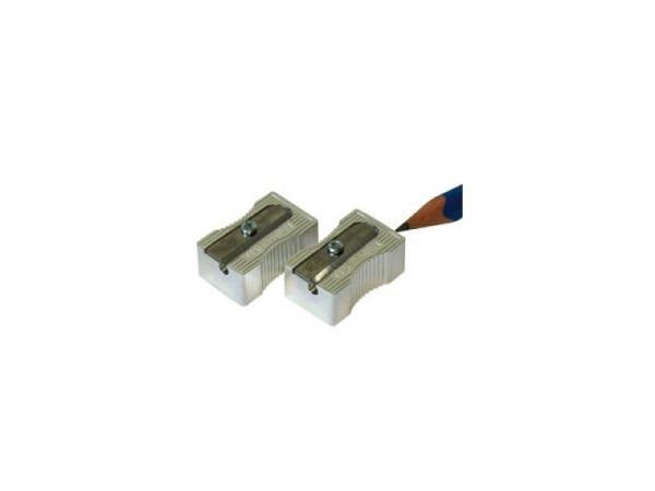 Spitzer Kum Metall Einfachspitzer in Blockform