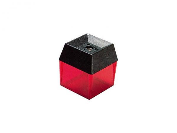 Spitzer Dux eckig transparent farbig m.Behälter 3607