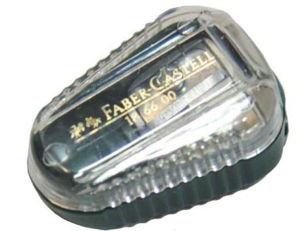 Spitzer Faber-Castell TK grün, Minenspitzdose für Fixpencil