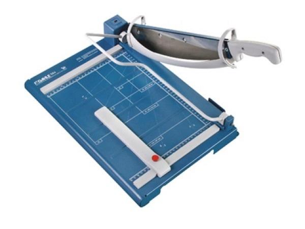 Schneidmaschine Connect A4 Hebelschnitt blau-silber