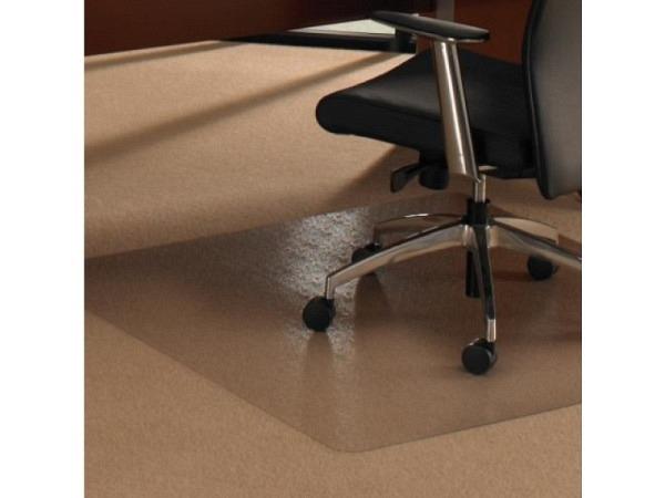 Bodenschutzmatte Cleartex 115x134cm für Teppichböden
