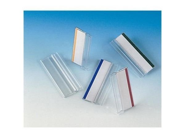 Aufsteckreiter Tarifold 50mm breit farbig sortiert