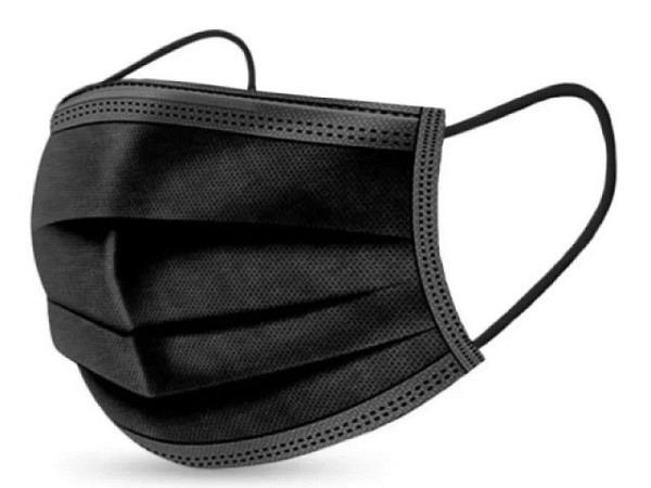 Schutzmaske Bad Boy schwarz, Stoffmaske