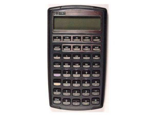 Taschenrechner HP 10BII Finanzrechner deutsch