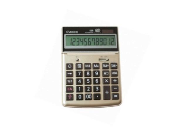 Taschenrechner Canon TS-1200TCG 13x18,8cm, umweltfreundlich