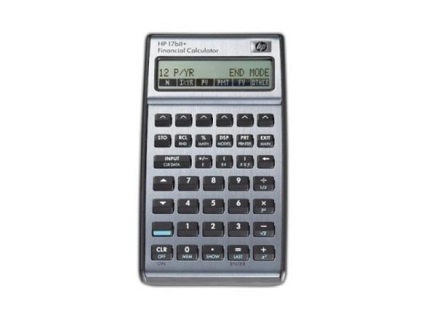 Taschenrechner HP 17BII+ Finanzrechner deutsch