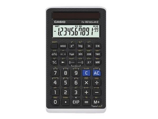 Taschenrechner Casio FX-82 solar, 10+2 stellige Anzeige