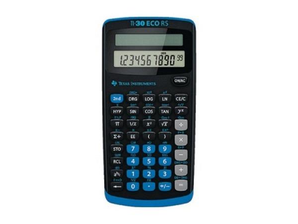 Taschenrechner Texas TI-30ECO RS für Schule Solar