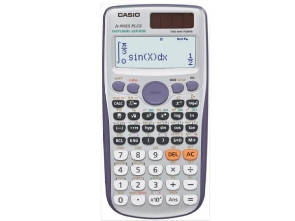 Taschenrechner Casio FX-991EX-CH, Solar und Batterie