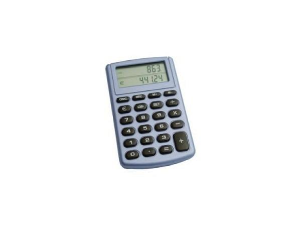 Taschenrechner Büroline silber Euro 8stellig klein