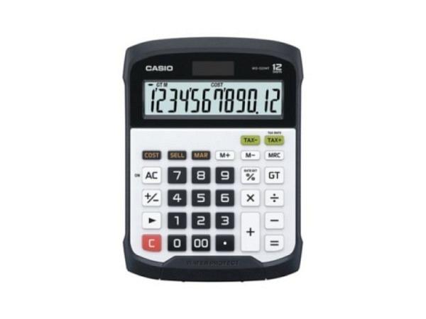 Taschenrechner Casio WD-320MT schwarz 14,5x19,5cm