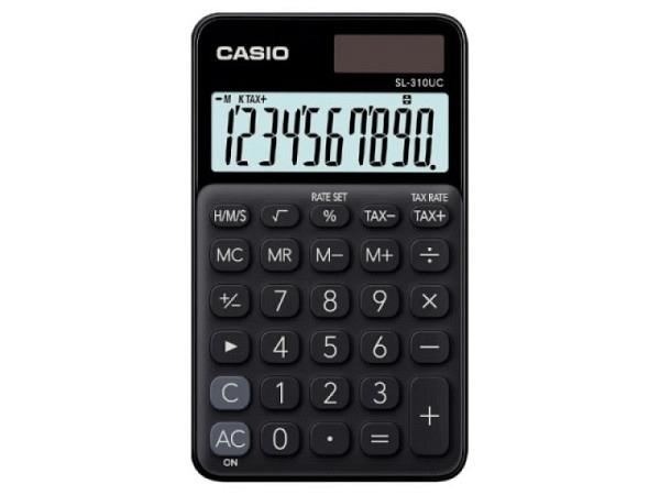 Taschenrechner Citizen ECC-110 schwarz, Solarbetrieb