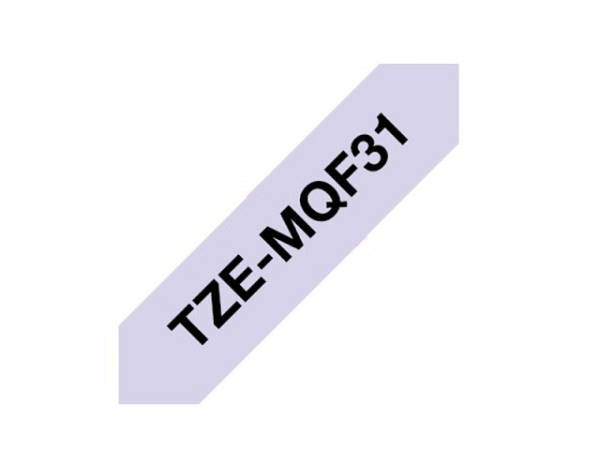 Beschriftungsband Brother P-Touch TZe 12mm breit, schwarz auf pastel..