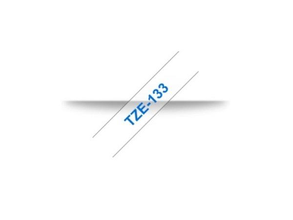 Beschriftungsband Brother P-Touch TZe 12mm bl auf trans Tze