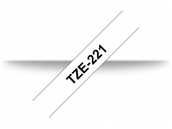 Beschriftungsband Brother P-Touch TZe 9mm schwarz auf weiss