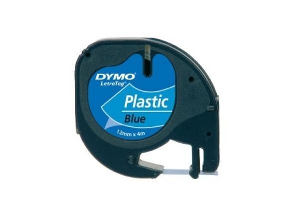 Beschriftungsband Dymo Band Plastik 12mm breit