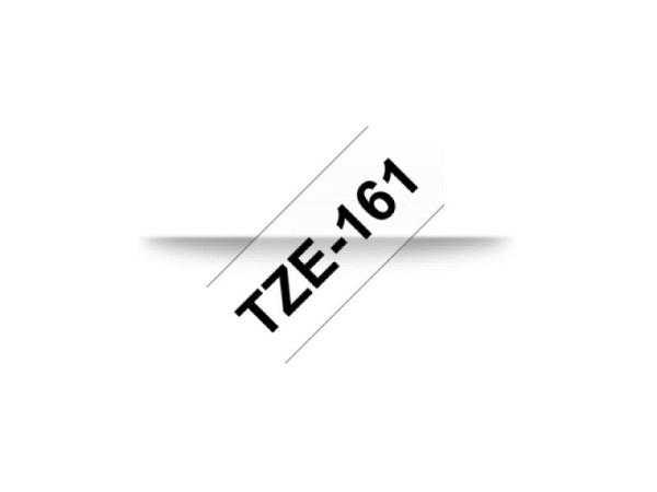 Beschriftungsband Brother P-Touch TZe 36 schwarz auf transp
