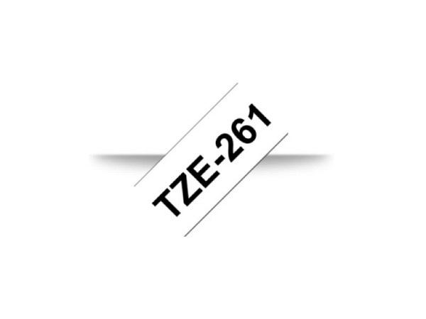 Beschriftungsband Brother P-Touch TZe 36mm schwarz auf weiss