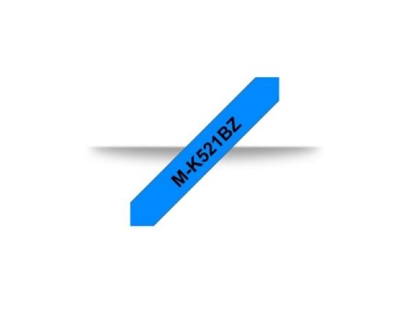 Beschriftungsband Brother P-Touch M 9mm schwarz auf blau M