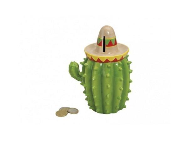 Geldkassette Kaktus mit Hut