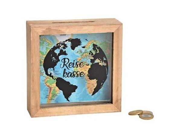 Geldkassette Apfel m. Blumen erhältlich grün, rosa oder blau