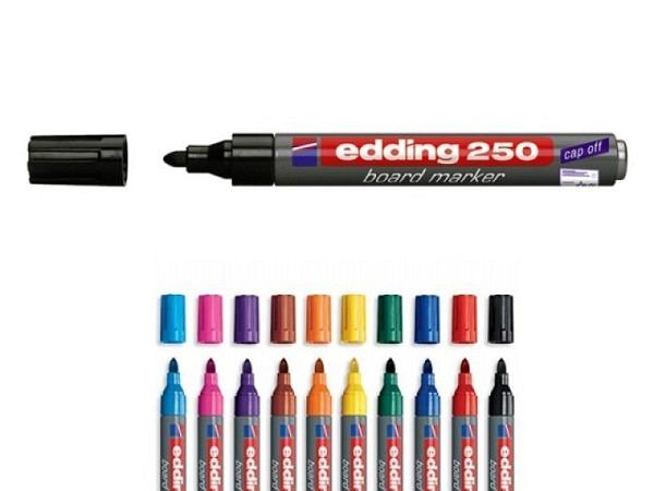 Filzstift Edding 250 für Whiteboard