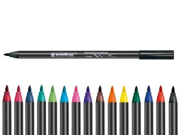 Filzstift Edding 4200 Porzellan Pinselstift