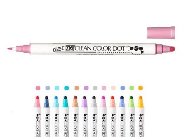 Filzstift Kuretake Clean Color Dot TC-6100