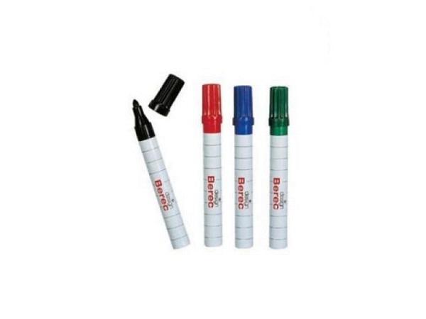 Filzstift Berec Whiteboard 4er Set 1-4mm farbig sortiert