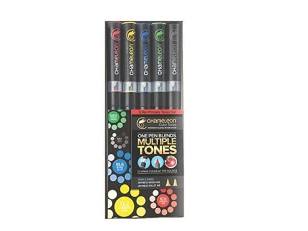 Pinselstift Chameleon Color Tones Pen Set 5Stk. Primary Tones