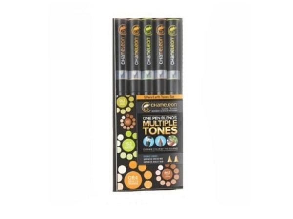 Pinselstift Chameleon Color Tones Pen Set 5Stk. Earth Tones
