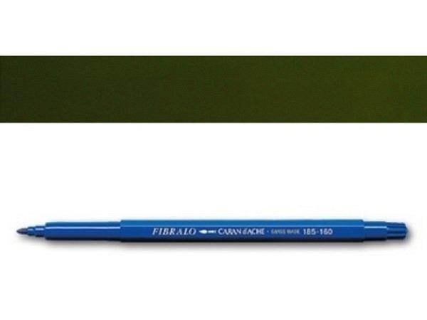 Filzstift Caran dAche Fibralo dunkeloliv 0185.249