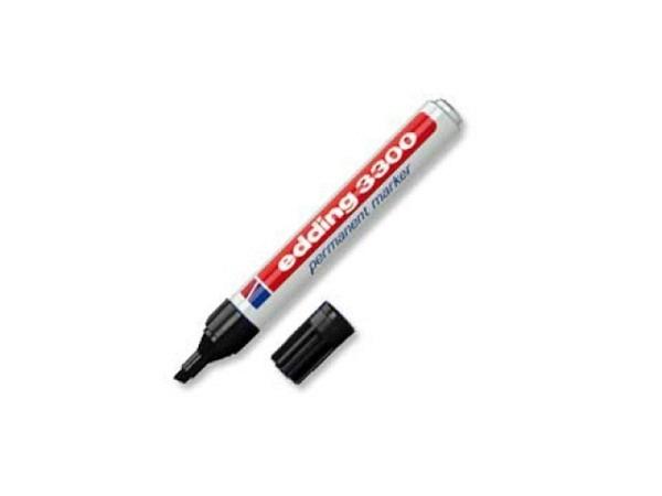 Filzstift Edding 3300 schwarz eckig 1-5mm wasserfest