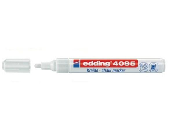 Filzstift Edding 4095 Kreidemarker 3mm weiss