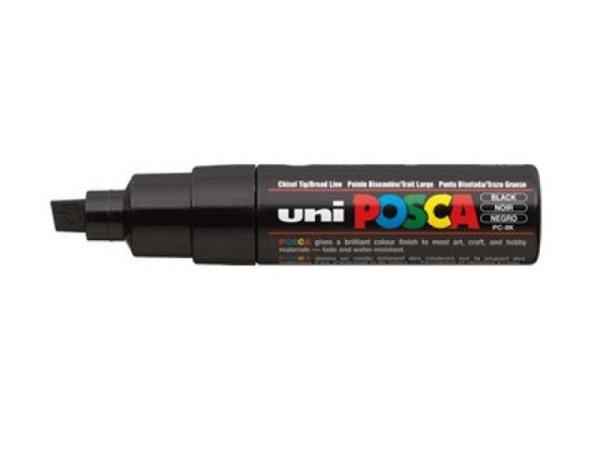 Filzstift Uniball Posca Marker 8mm schwarz