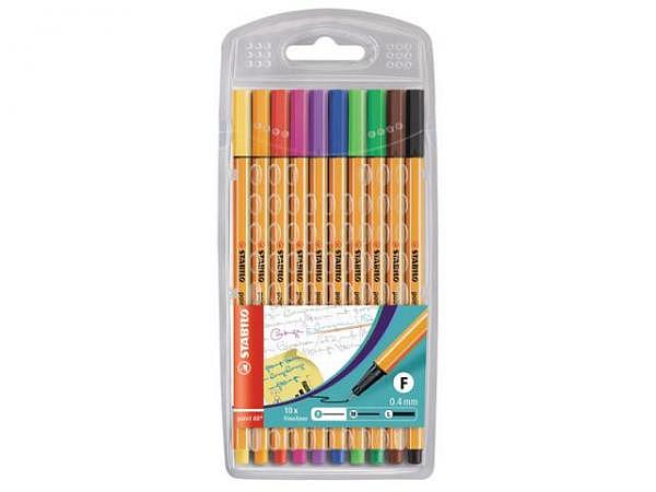 Filzstift Stabilo Point 88 Set 10Stk.