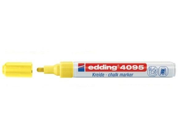 Filzstift Edding 4095 Kreidemarker 3mm neongelb