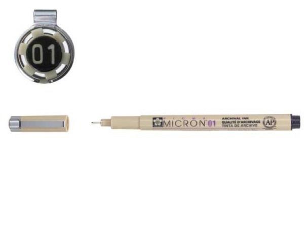 Filzstift Sakura Fineliner Pigma Micron 0,25mm schwarz